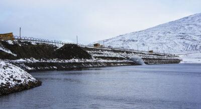 Замораживание плотины