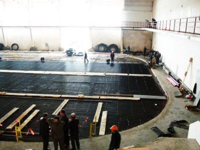 строительство новых ледовых арен