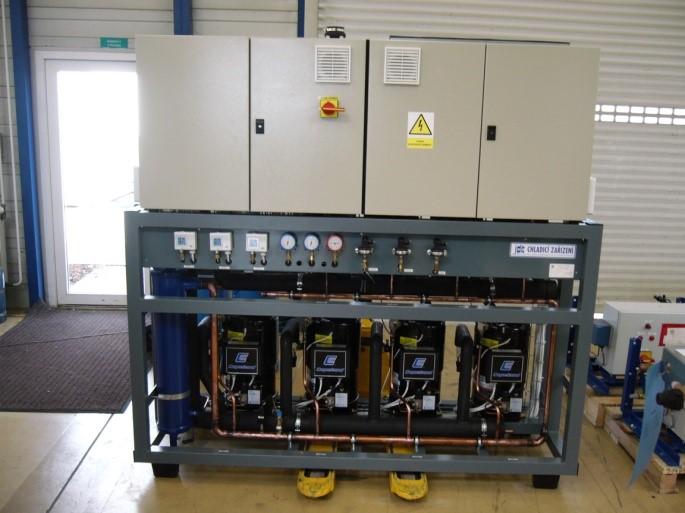 централи для углекислотных холодильных установок
